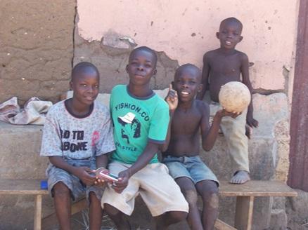 Kinder aus der Region um Tsikudokope