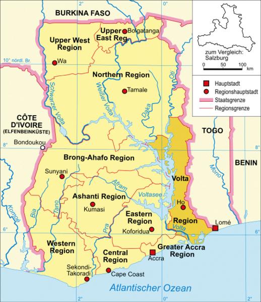 Die Volta-Region