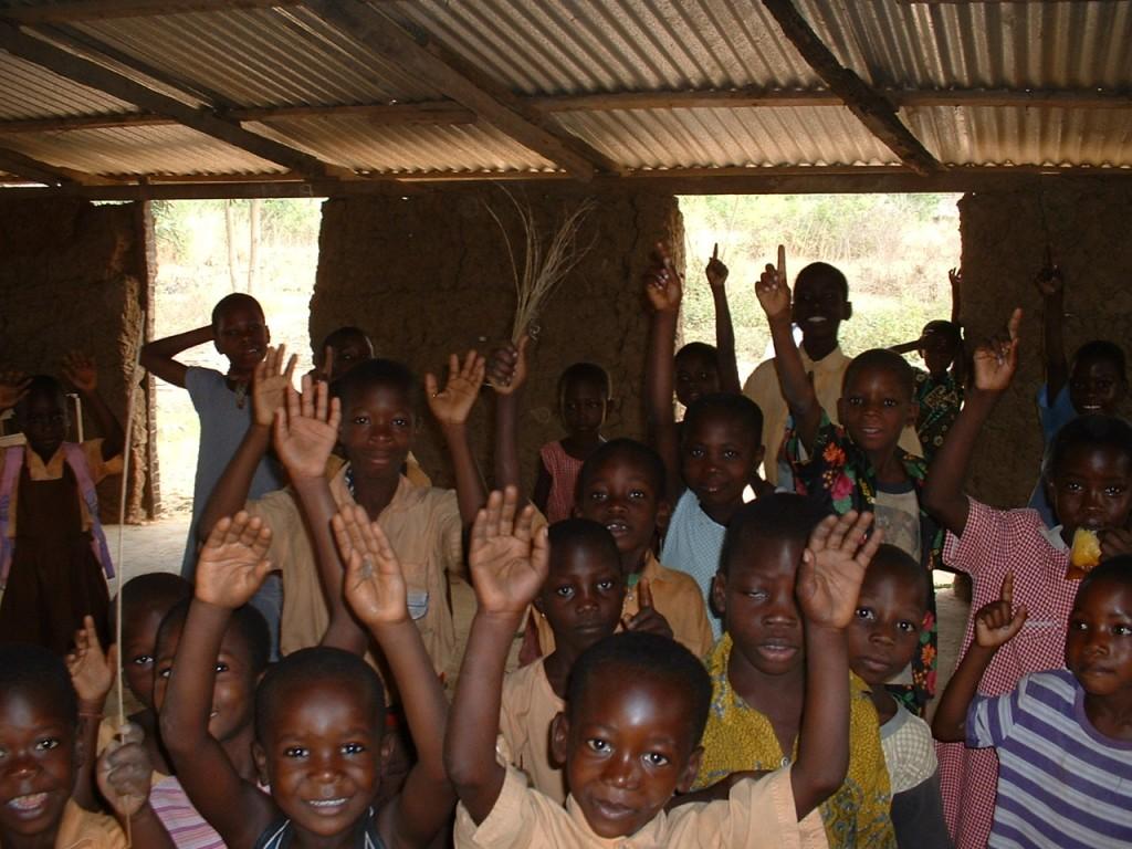 Schulkinder in Ghana