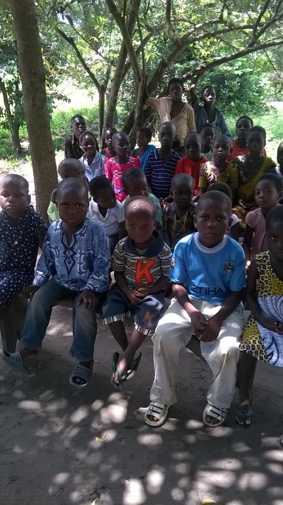 School kids in Tsikudokope