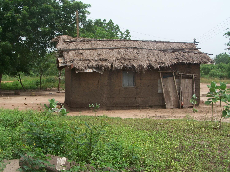 Haus aus Lehm